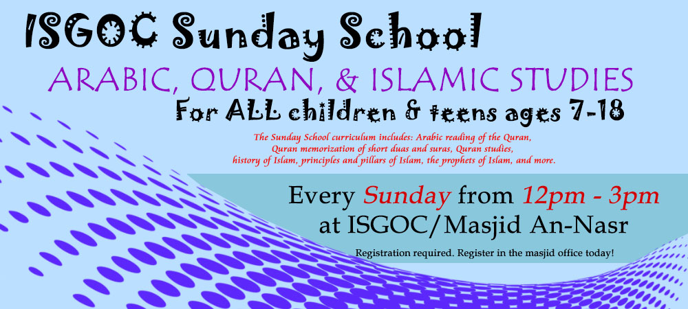ISGOC Sunday School